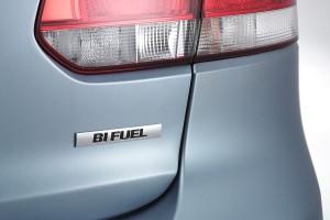 Golf VI BiFuel: nueva versión que puede utilizar gas natural.