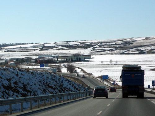 Zaragoza - Madrid. Nevado. Margen derecha.