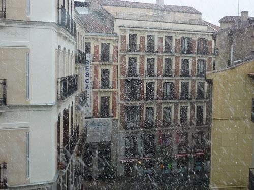 Más nieve en Madrid