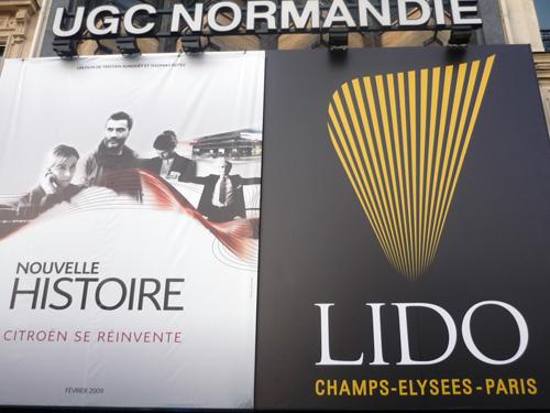 Citroën. Cinéma Normandie. Lido.