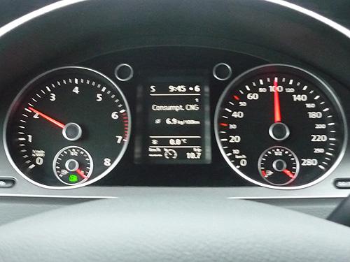Volkswagen Passat EcoFuel. Manual.