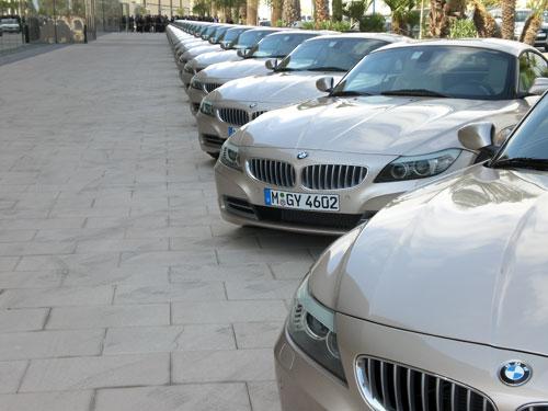 BMW Z4. Alineado frontal