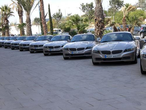BMW Z4. Matrículas consecutivas.