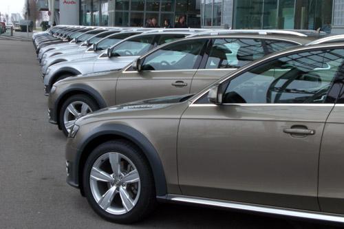 audi A4 allroad. Audi Forum. Múnich.
