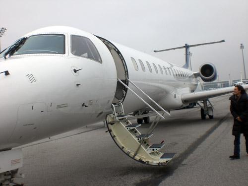Avión. Munich. Charter.