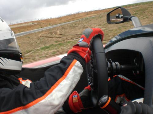 Catharina Felser. KTM X-Bow.