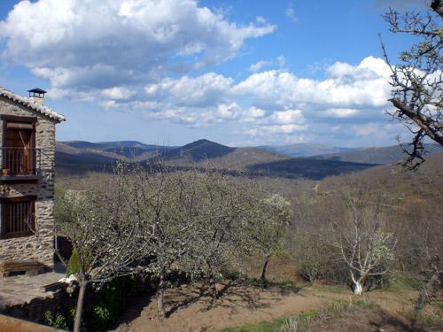 Vistas desde La Hiruela