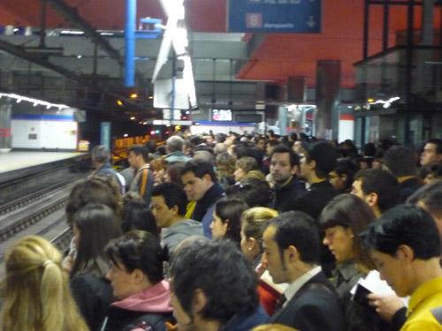 Estación de Nuevos Ministerios. Metro de Madrid.