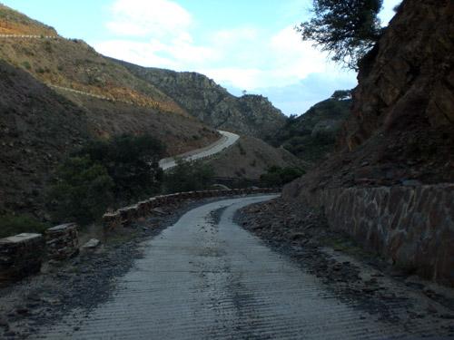 Paso. Río Jaramillo