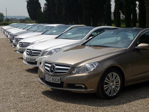 Mercedes Clase E Coupé. Presentación. Mayo 2009.