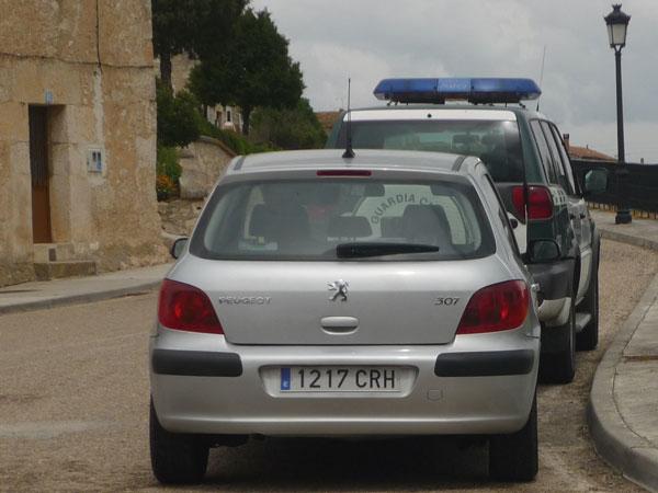 Peugeot 307. Radar. Guardia Civil.