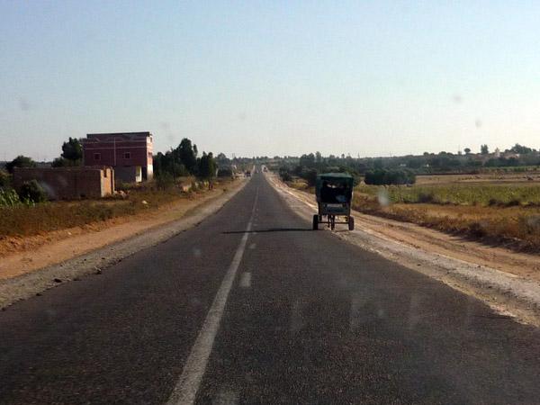 Conducir en Marruecos fuera de las autopistas