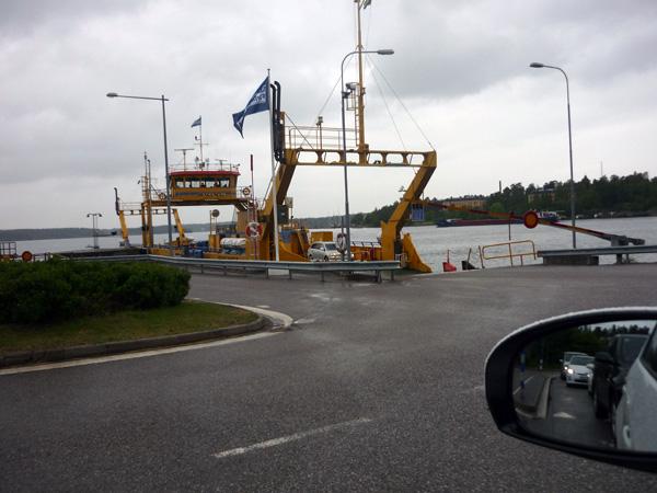 Ferry. Suecia. Atraque.