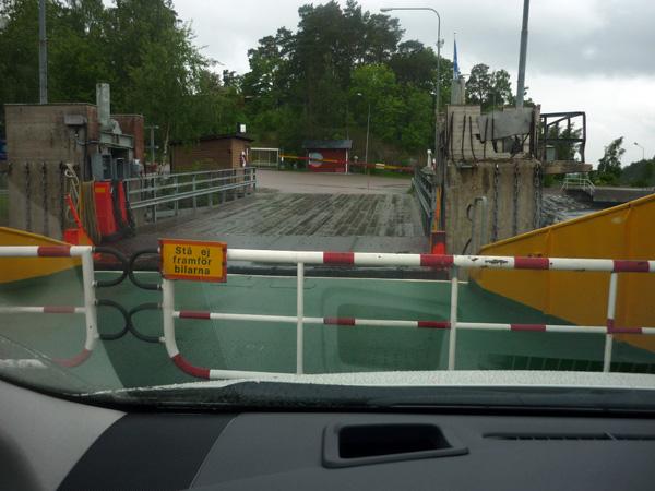 Ferry. Salida.