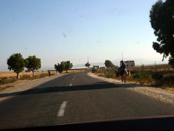 Marruecos. Carretera.