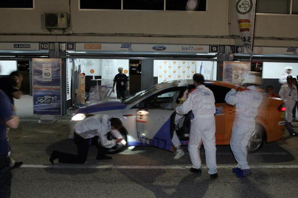 Cambio de piloto. Noelia. km77.com. 24 Horas Ford 2009