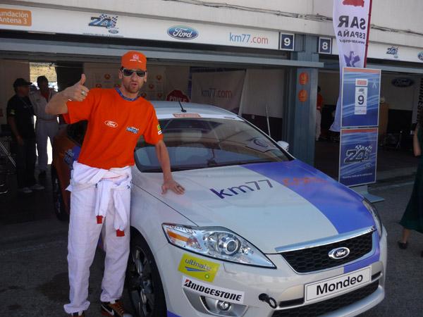 Edu Soto. 24 horas Ford. km77.com