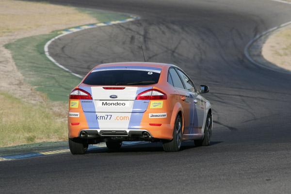 En la bajada de Bugatti. km77.com. 24 Horas Ford 2009