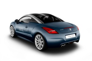 Peugeot Concept RCZ HYbrid4: RCZ híbrido para 2011.