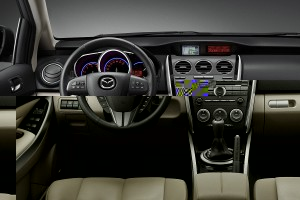 Nuevo Mazda CX-7 ya en venta, ahora con motor Diesel.