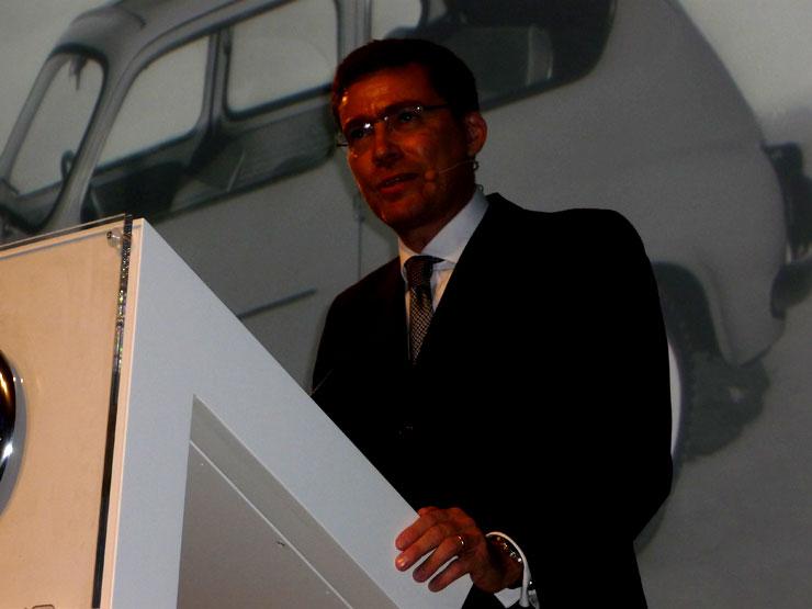 Lorenzo Sistino. CEO Fiat Auto.
