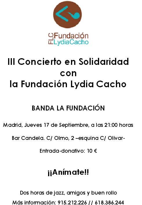Concierto Fundacion Lydia Cacho