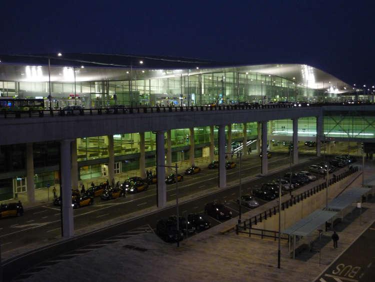 Aeropuerto de El Prat. Nueva terminal. Barcelona.