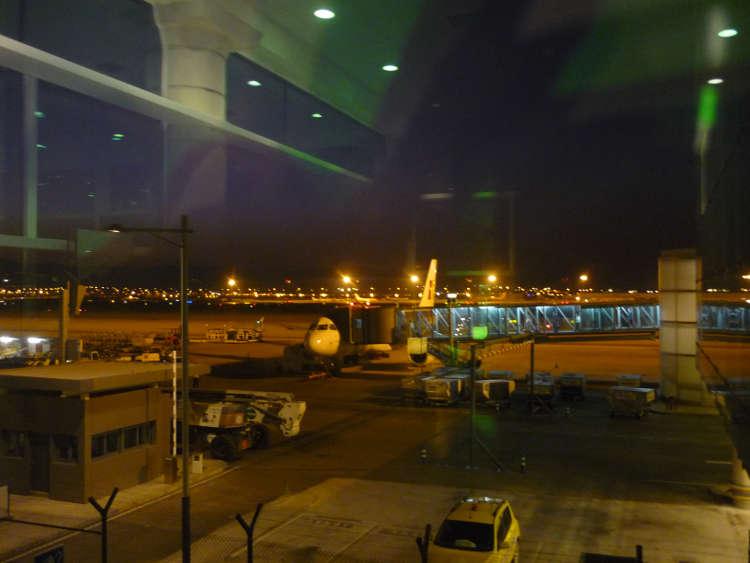 Aeropuerto de Barcelona. Nueva terminal. Vista desde Sala VIP