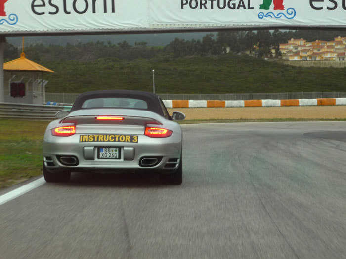 Porsche 911 Turbo. Potencia.