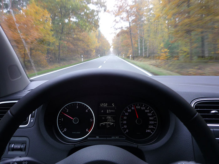 Volkswagen Polo BlueMotion. Recorrido para medir el consumo.