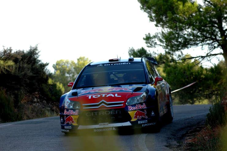 Dani Sordo. Tramo 14. Rally de España.
