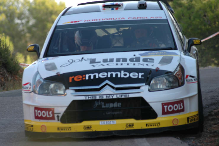 Petter Solberg. Rally de España. Tramo 14.
