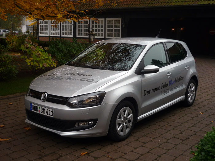Volkswagen Polo BlueMotion.