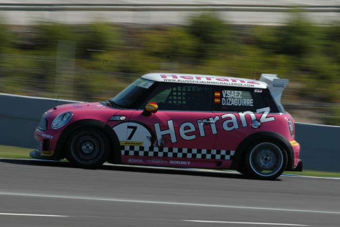 David Izaguirre - Víctor Sáez. MINI Challenge. Jerez.