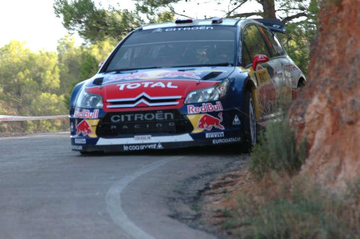Sebastien Loëb. Rally de España.