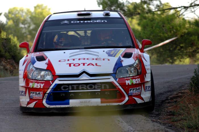 Sebastien Ogier. Rally de España.