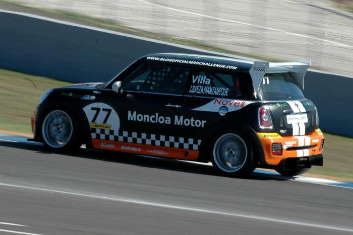 Javier Villa, ganador de la Clasificatoria a. Sábado por la mañana. Jerez.
