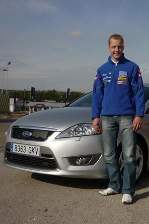 El chófer de... Mikko Hirvonen