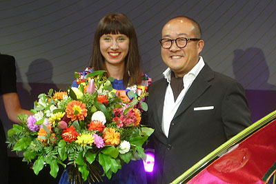 Mischa Woeste y Taewan Kim
