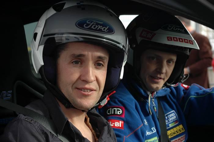 Mikko Hirvonen, chófer de Carlos Sastre