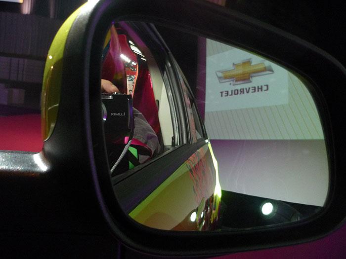 Retrovisor del Chevrolet Spark