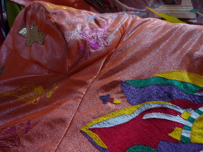 Detalle del tapiz interior