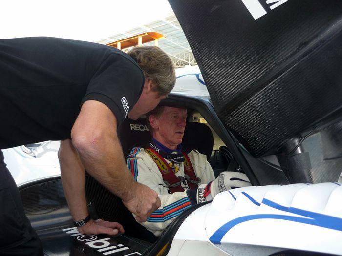 Walter Röhrl en el Circuito de Estoril