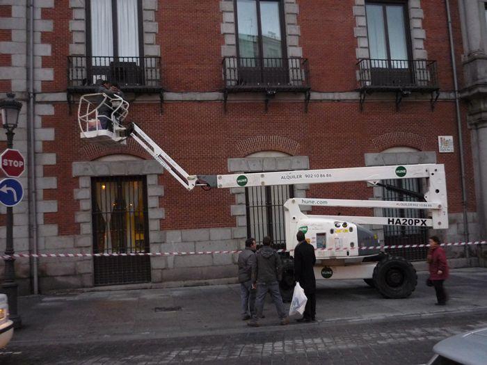 Plaza de las Provincias. Madrid. Ministerio de Asuntos Exteriores.