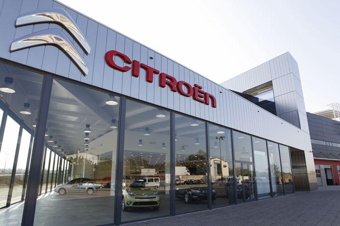 Garage Andreu (Gerona), pionero de Citroën en el mundo