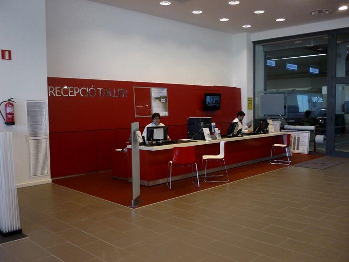 Recepción del taller. Citroën.