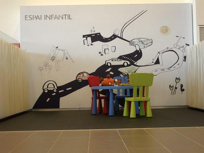Zona infantil. Andreu, Garage. Citroën.