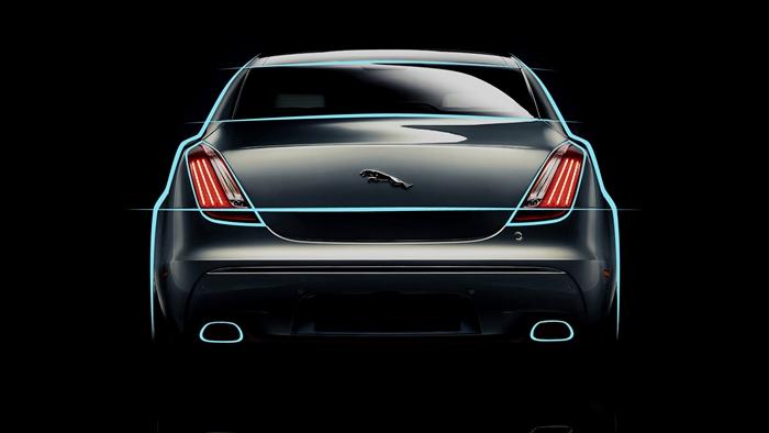 Lineas. Jaguar XJ