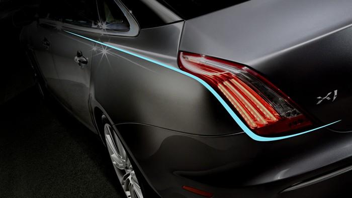 Jaguar XJ. Diseño y LEDs