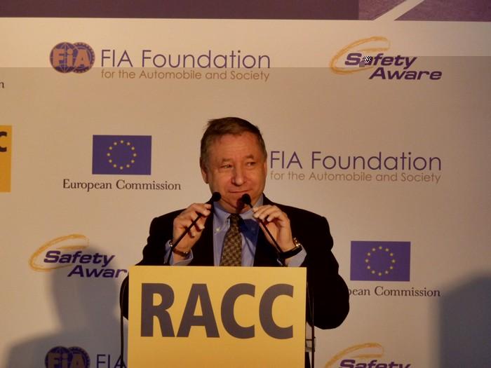Jean todt, Presidente de la Federación Internacional de Automovilismo, FIA